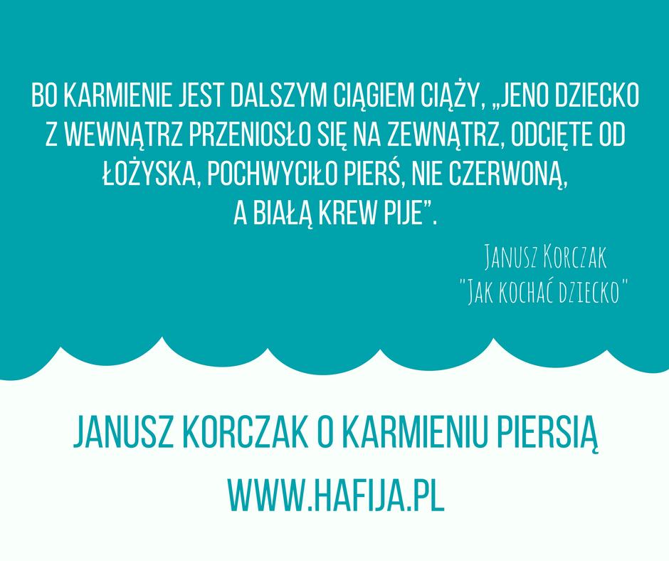 Janusz Korczak O Karmieniu Piersią Hafijapl