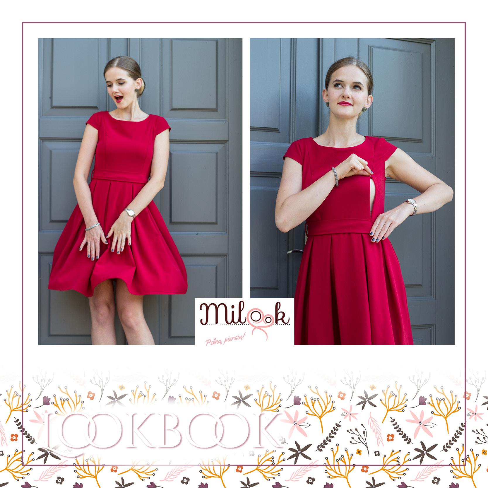 a42fc572f Sukienka do karmienia Ruby Pudding Każda kobieta od czasu do czasu marzy o  odrobinie luksusu! O ile noszenie kamieni szlachetnych przy malutkim  szkrabie nie ...